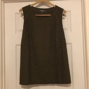 Embroidered tank NWT